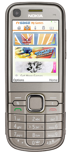 Nokia 6720 Classic running N-Gage